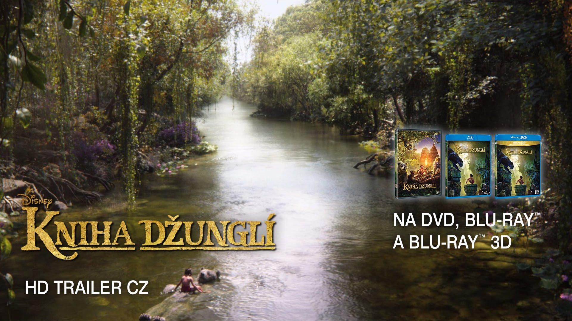 KNIHA DŽUNGLÍ (2016) HD Trailer CZ
