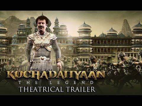 Kochadaiiyaan - The Legend (Uncut Trailer)   Rajinikanth, Deepika Padukone