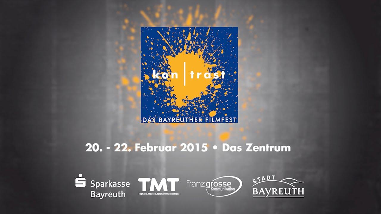 kontrast - Das Bayreuther Filmfest 2015 – Trailer