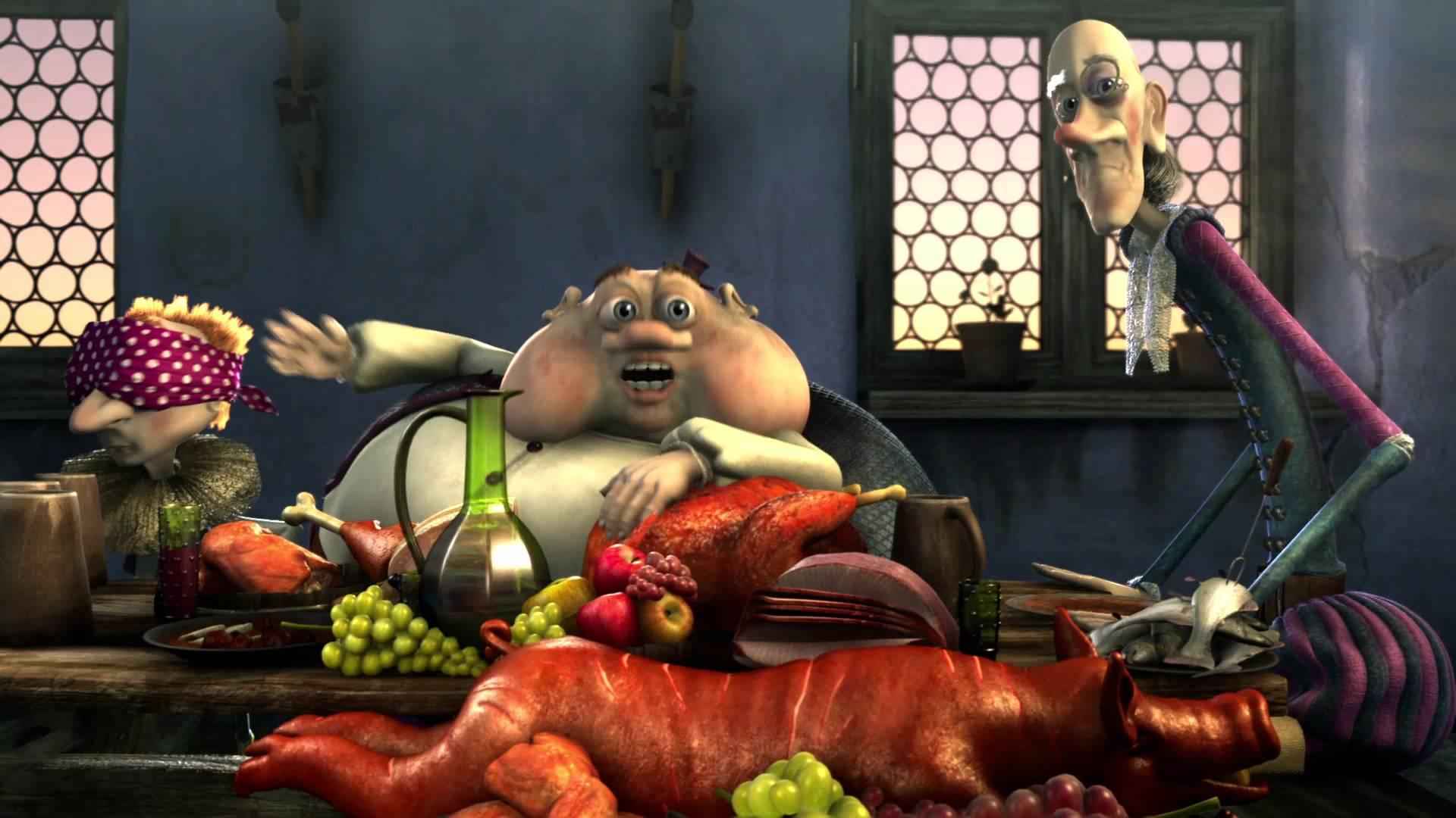 Kozí příběh 2  - Kozí příběh se sýrem - NOVÝ TRAILER 2012