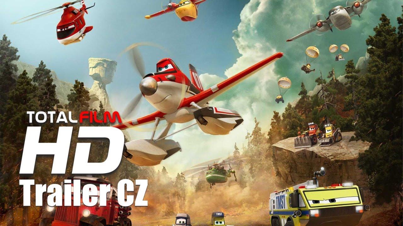 Letadla 2: Hasiči a záchranáři (2014) CZ HD dabing trailer