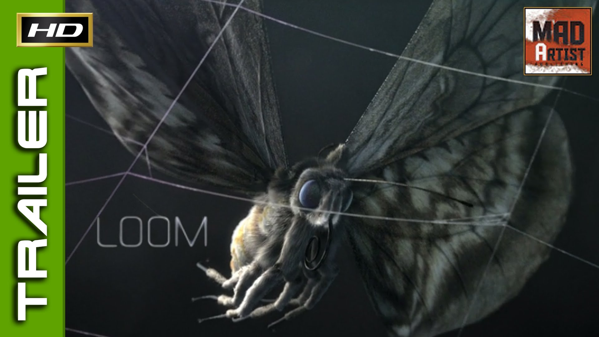 Loom (Trailer) | Story about a hunted Moth (Filmakademie)