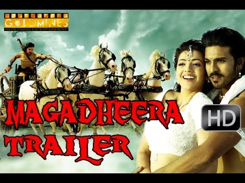 Magadheera Official Hindi Trailer- Ram Charan Teja, Kajal Aggarwal, Srihari, Sarath Babu