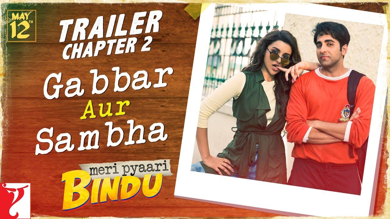 Meri Pyaari Bindu | Official Trailer - Chapter 2 | Ayushmann Khurrana | Parineeti Chopra