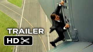 Mission: Impossible - Rogue Nation Official Trailer #1 (2015) - Tom Cruise, Simon Pegg Spy Movie HD