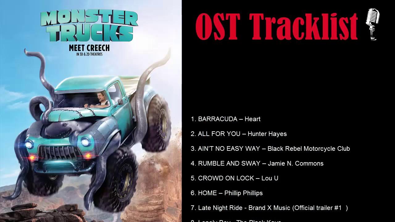 Monster Trucks Soundtrack|OST Tracklist