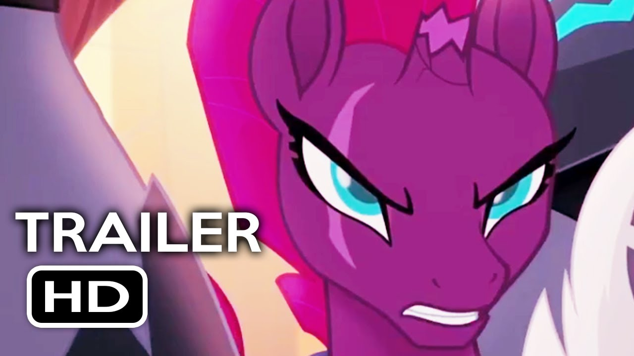 My Little Pony: The Movie Official Trailer #1 (2017) Animated Movie HD