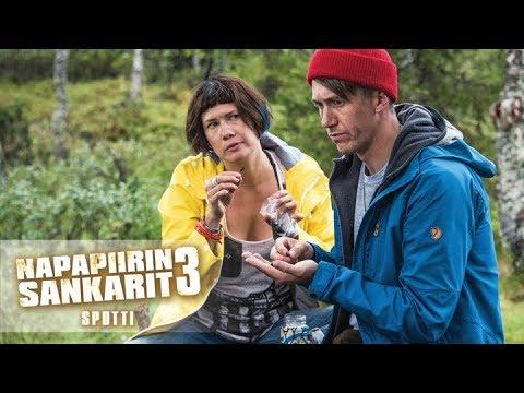 NAPAPIIRIN SANKARIT 3 elokuvateattereissa 23.8.  (spotti)