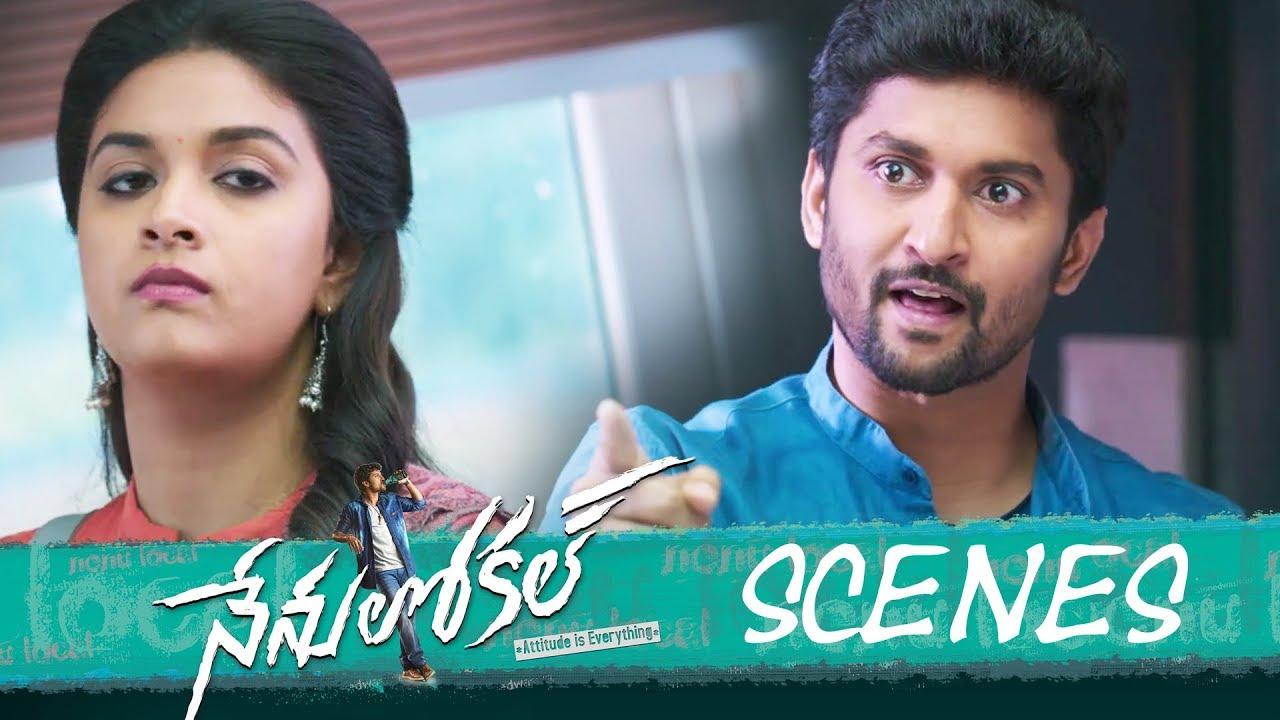 Nenu Local Movie - Love Proposal in College Scene  - Nani, Keerthy Suresh