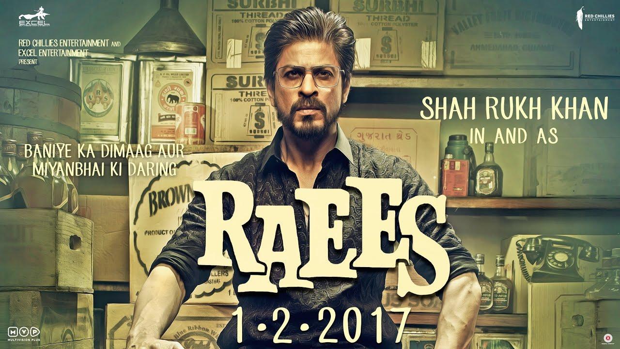 Official Trailer Raees (2017) | Shah Rukh Khan | Mahira Khan | 1 Februari 2017
