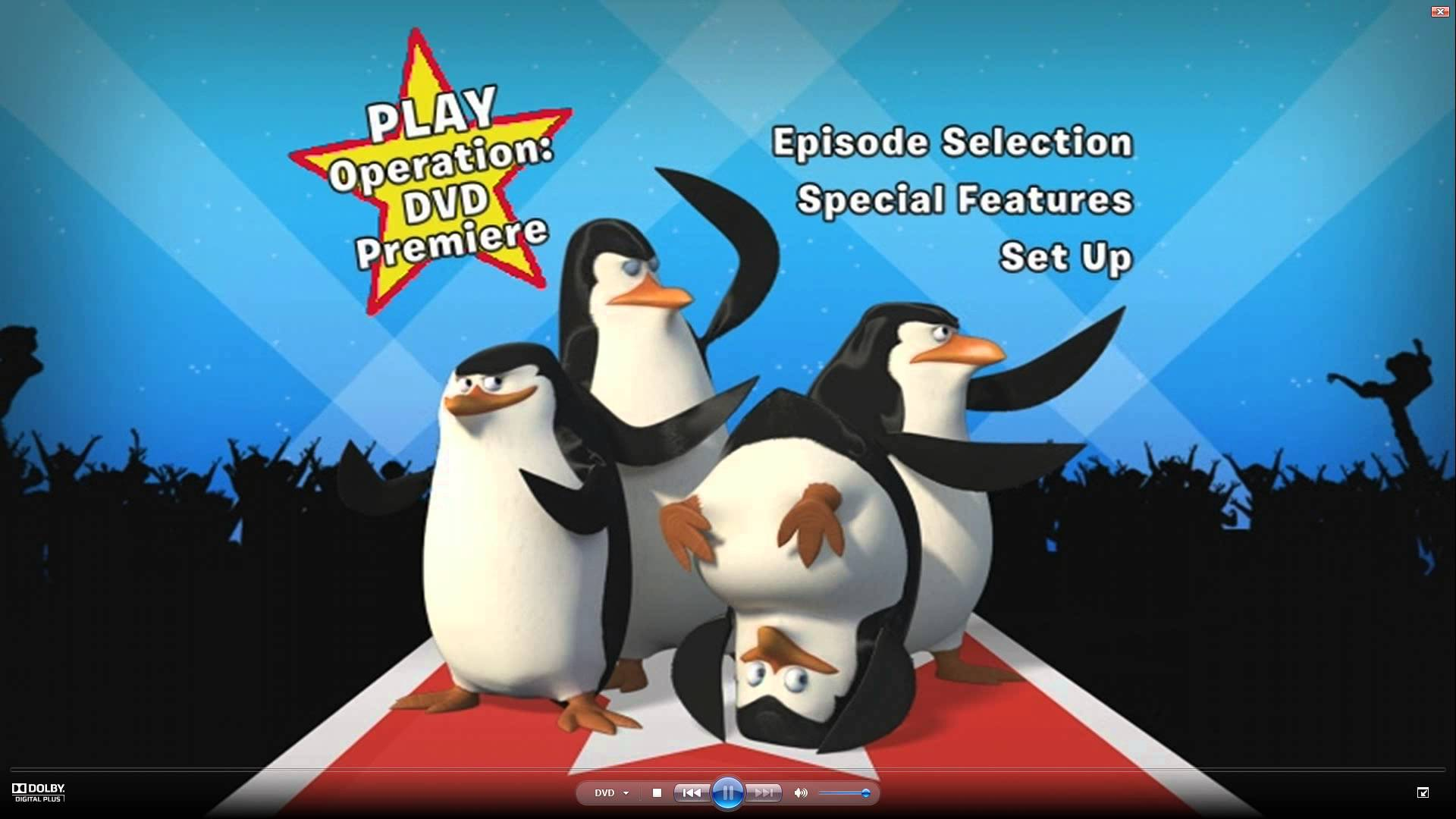 Opening To The Penguins Of Madagascar: Operation DVD Premiere 2010 DVD