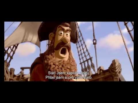 Piráti (Pirates! The Band of Misfits) - DVD a 3D Blu-ray trailer