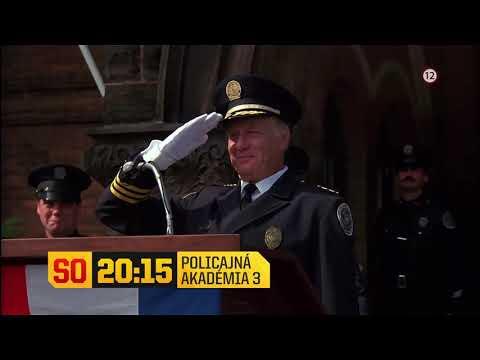 Policajná akadémia 3 - v sobotu 19. 9. 2020 o 20:15 na Dajto