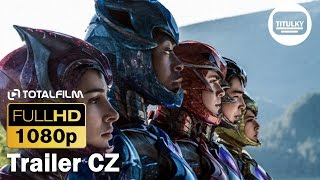 Power Rangers (2017) CZ HD trailer