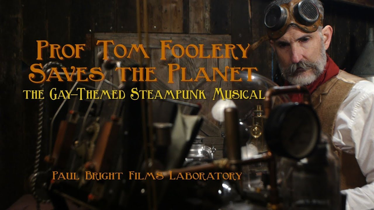 PROF TOM FOOLERY SAVES THE PLANET! Official Film Trailer