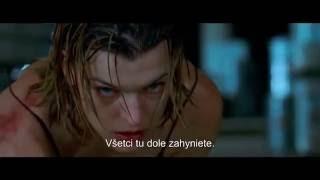 RESIDENT EVIL: POSLEDNÁ KAPITOLA (trailer - slovenské titulky)