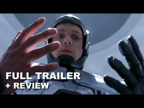 RoboCop 2014 Official Trailer + Trailer Review : HD PLUS