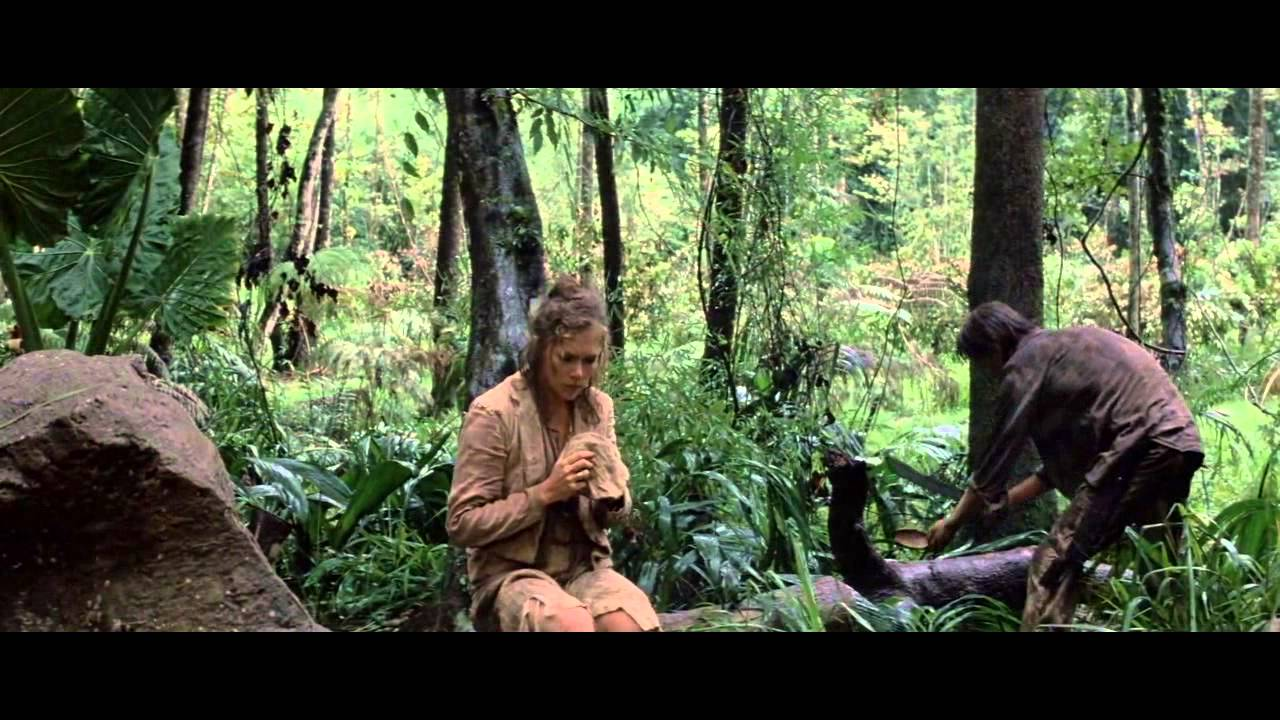 Romancing the Stone Clip - Jack chops up Joan's shoes