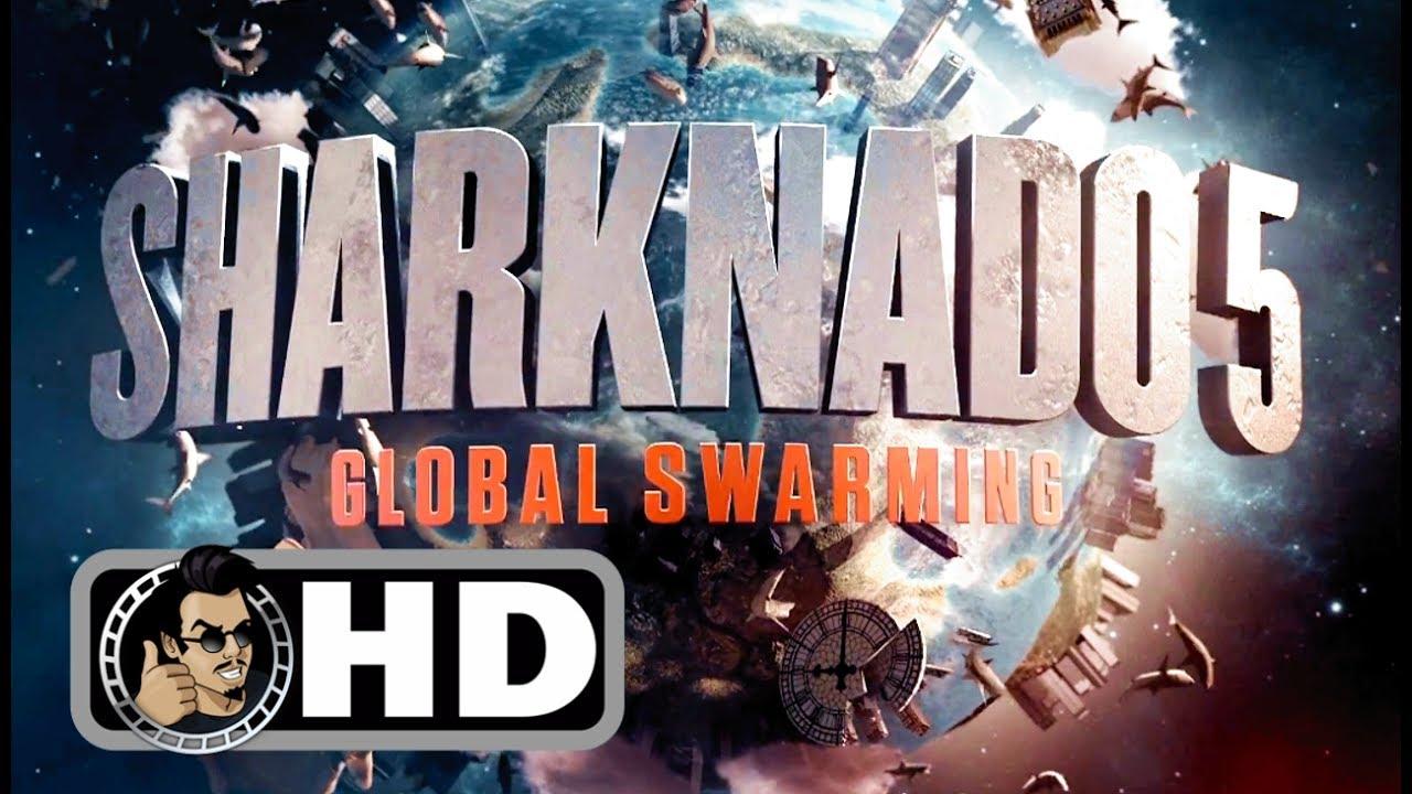 SHARKNADO 5: GLOBAL SWARMING Teaser Trailer (2017) Action Comedy Movie HD