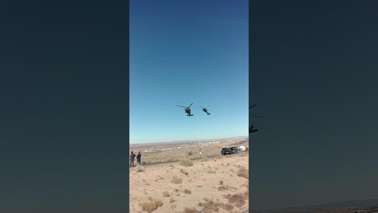 Sicario 2 (Soldado) Helicopter Chase Scene