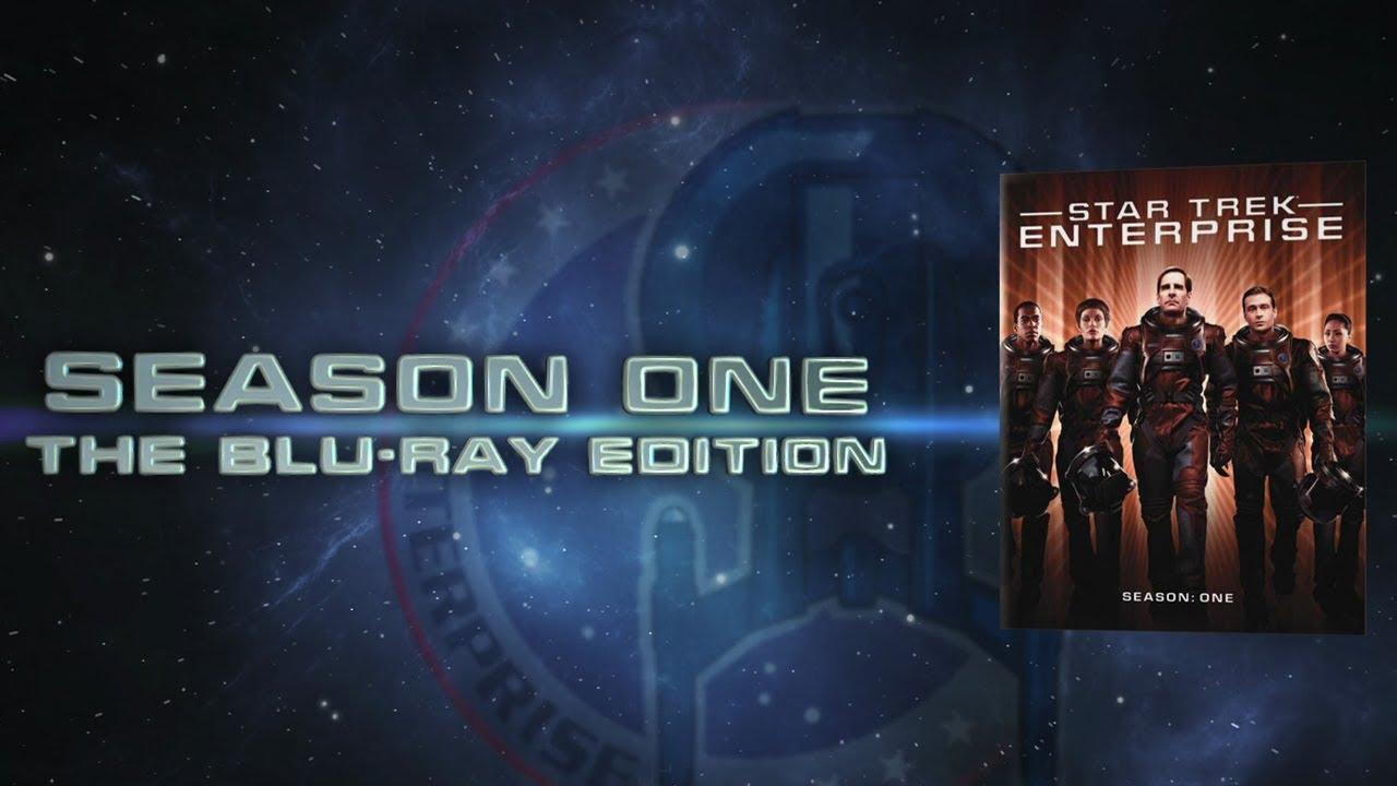 Star Trek ENTERPRISE Season 1 Blu-Ray Trailer
