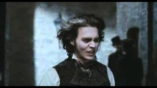 Sweeney Todd: Ďábelský holič z Fleet Street (2007) - trailer
