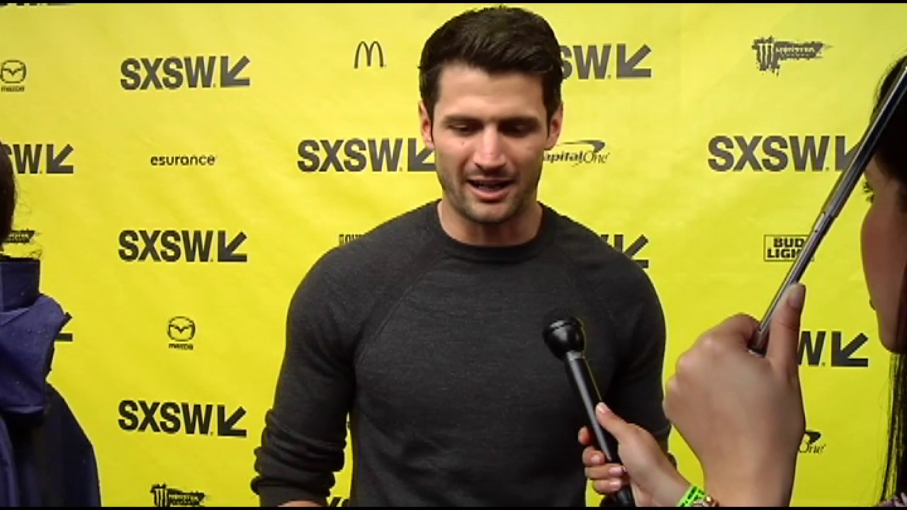 """SXSW 2017: James Lafferty on """"Small Town Crime"""" red carpet"""