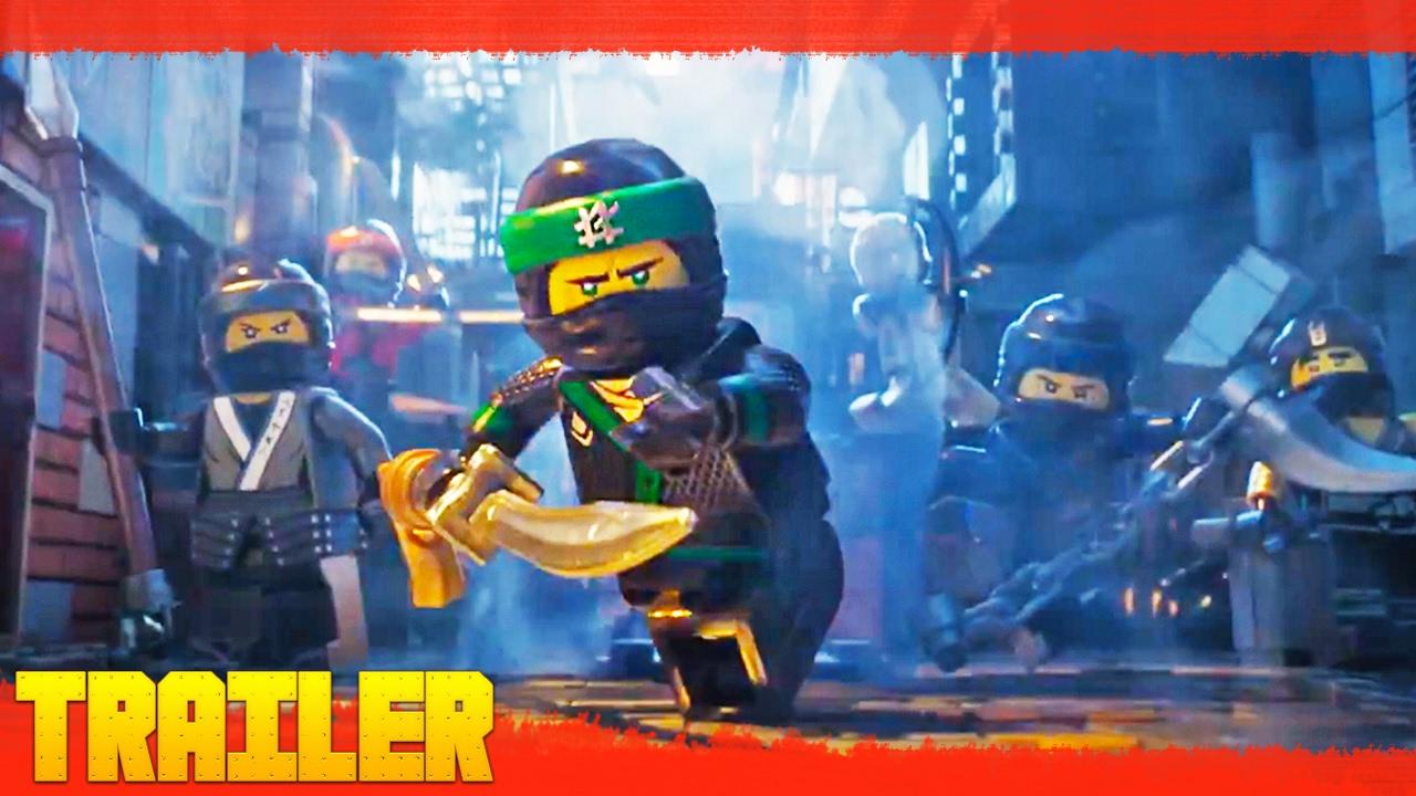 The LEGO Ninjago Movie (2017) Primer Tráiler Oficial Español Latino