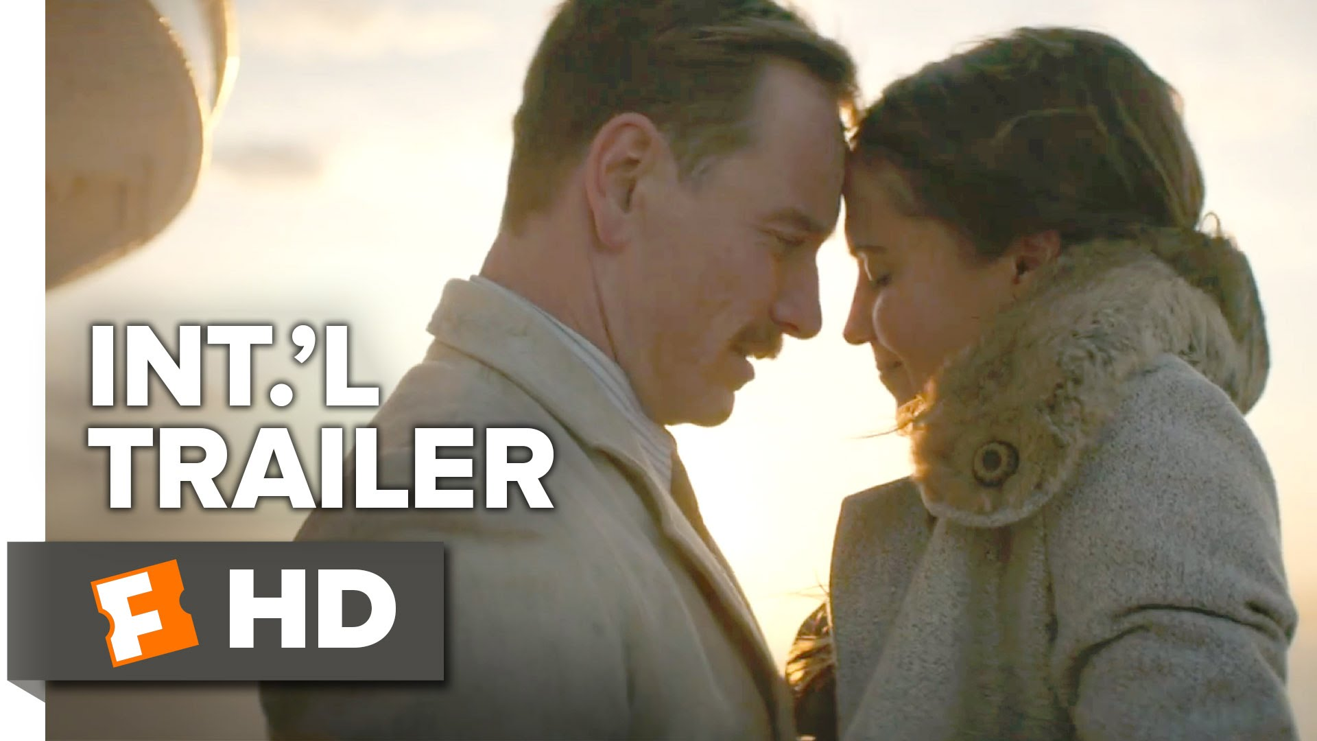 The Light Between Oceans Official International Trailer #1 (2016) - Michael Fassbender Movie HD