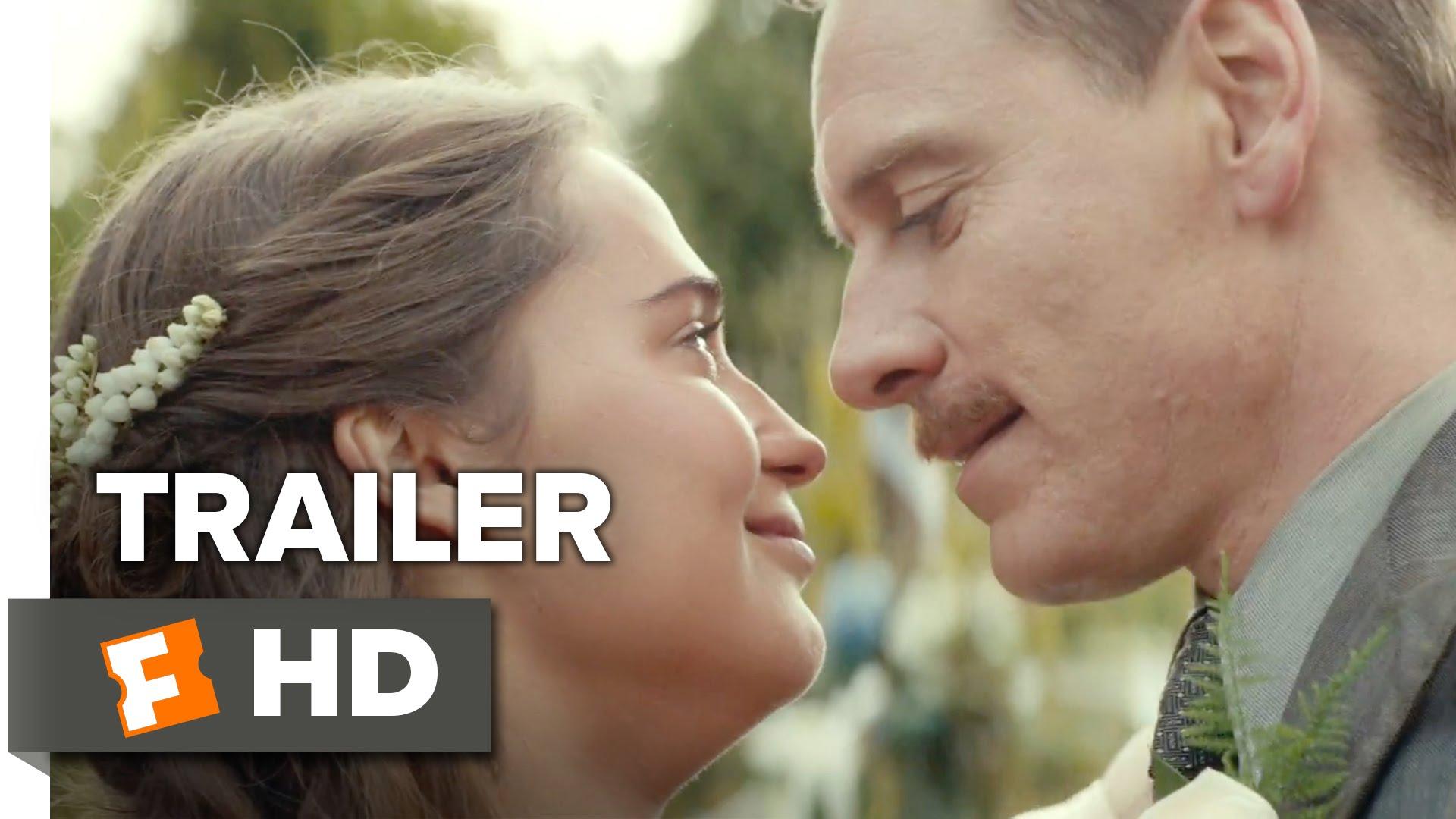 The Light Between Oceans Official Trailer #1 (2016) - Alicia Vikander, Michael Fassbender Movie HD