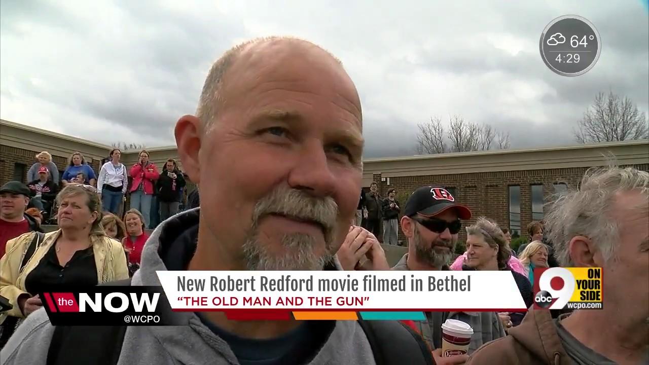 'The Old Man and the Gun' brings Robert Redford, Sissy Spacek to Bethel, Ohio