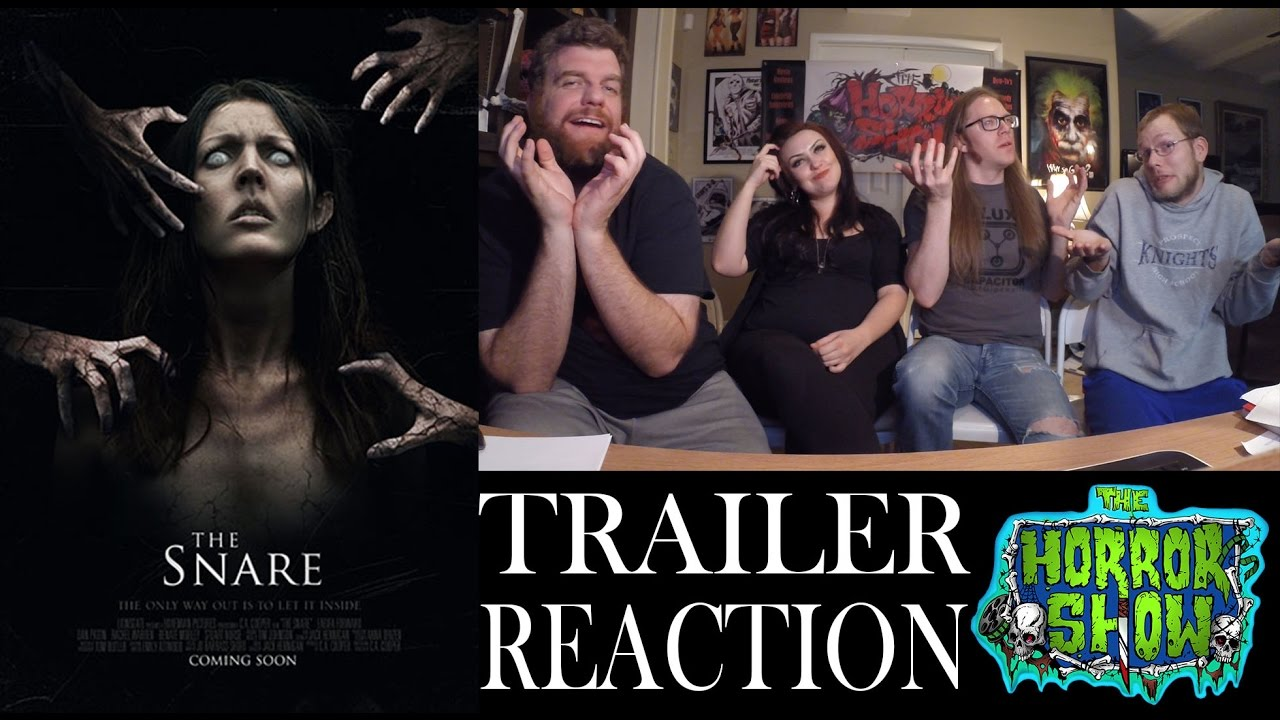 """""""The Snare"""" 2016 Trailer Reaction - The Horror Show"""