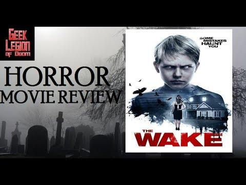 THE WAKE ( 2017 Allie Rivera ) Satanic Slasher Horror Movie Review