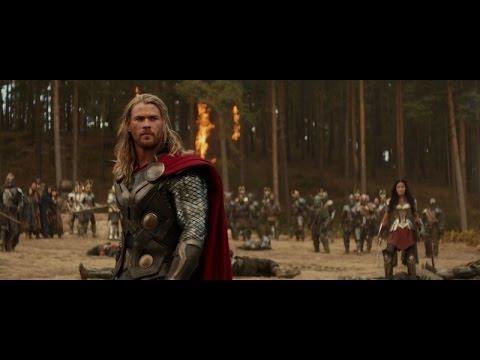Thor - Temný svět  2013 - Vtipné scény CZ Dabing