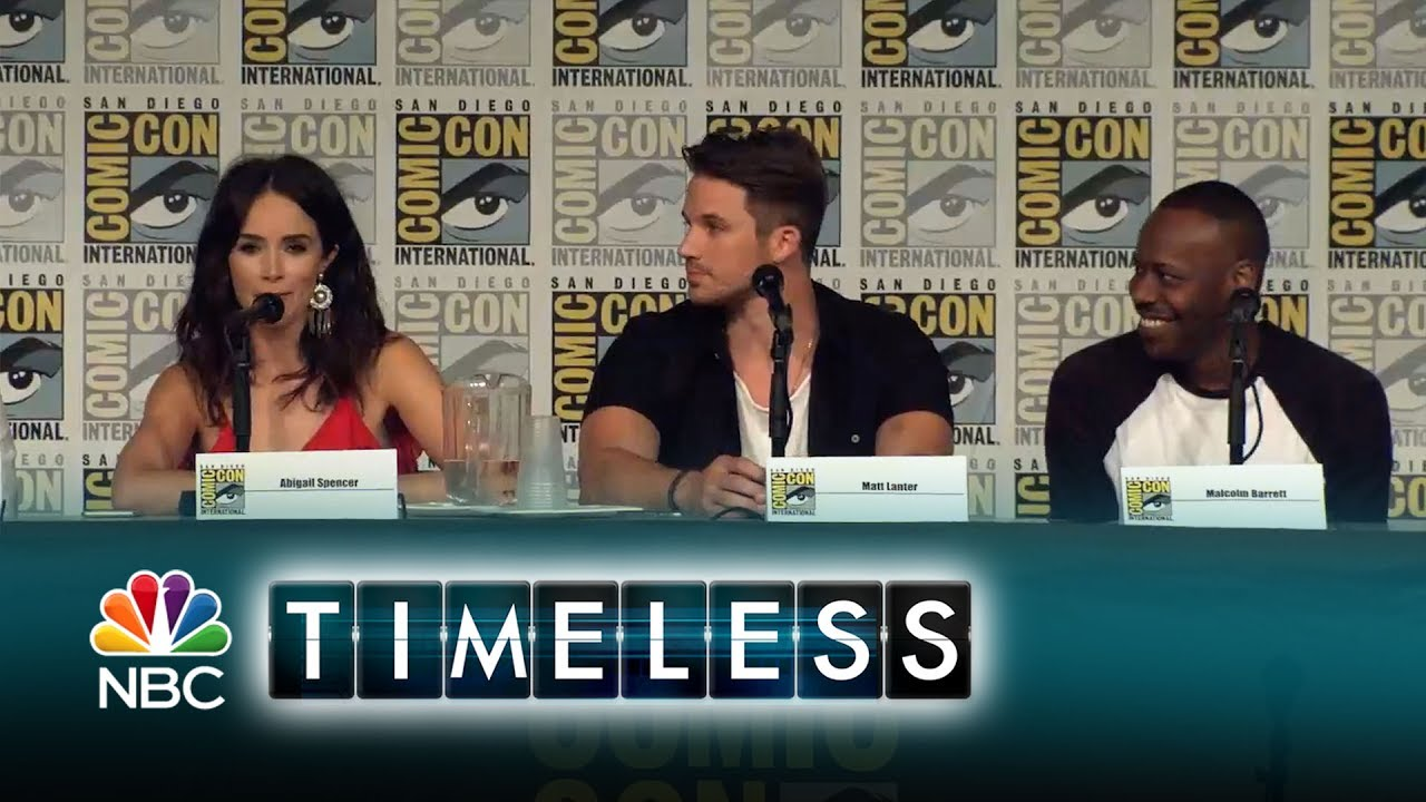 Timeless - The Cast Takes Over Comic Con (Digital Exclusive)