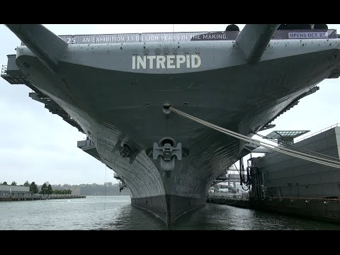 Trailer USS INTREPID | Sea,Air & Space Museum New York