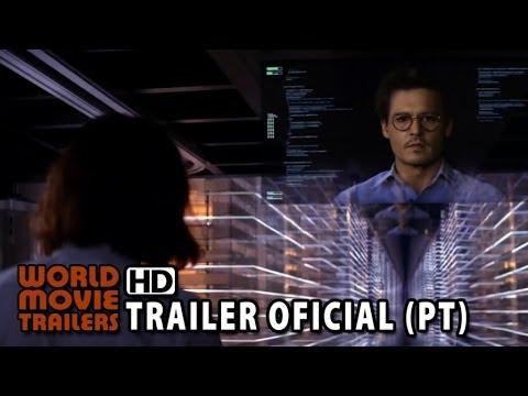 Transcendence - A Revolução Trailer Oficial Dublado (2014) HD