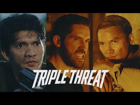 TRIPLE THREAT Trailer 2017, Tony Jaa, Iko Uwais, Scott Adkins - Reaksi Heboh Bule Bule
