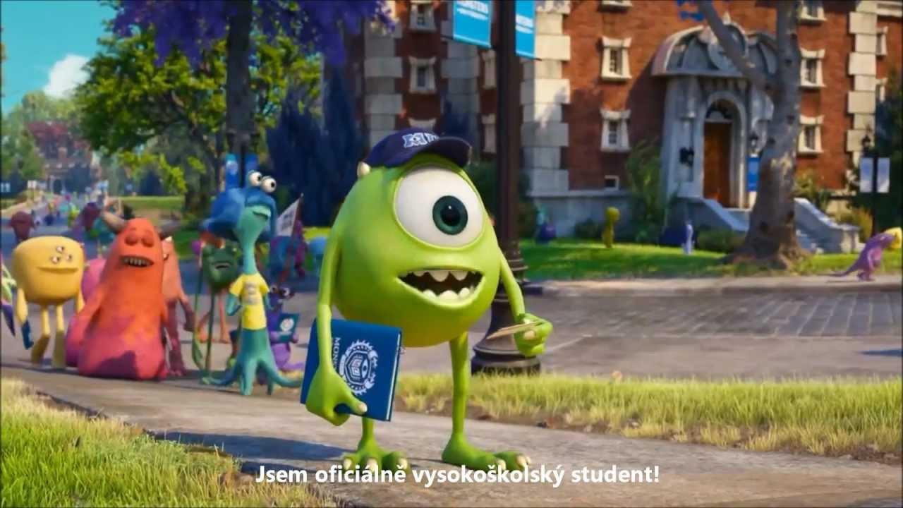 Univerzita pro příšerky / Příšerky s.r.o 2 [cz titulky trailer] 2013 by JayHa