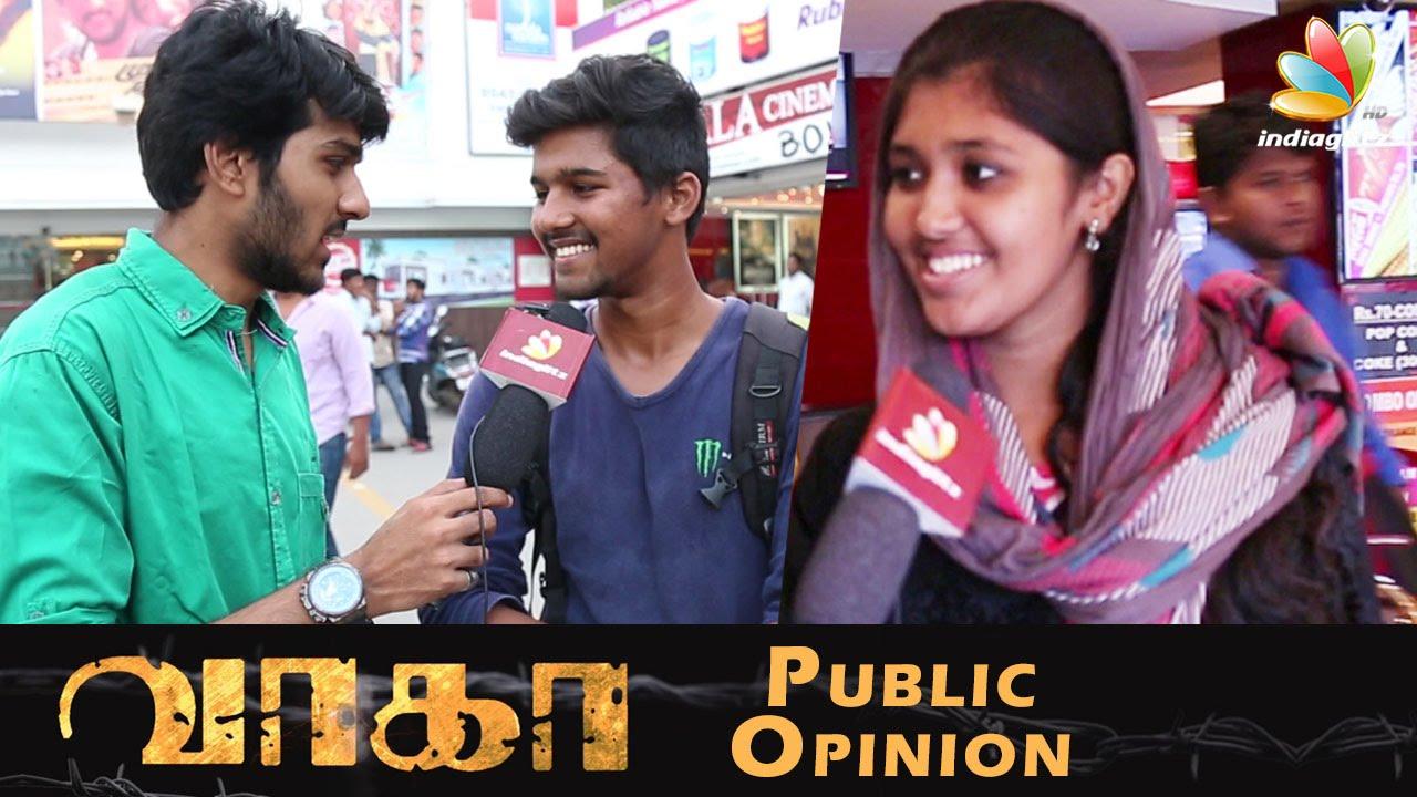 Vikram Prabhu's Wagah Audience Response   Public Movie Review