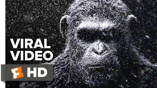 War for the Planet of the Apes Official Viral Video (2017) - Andy Serkis Movie