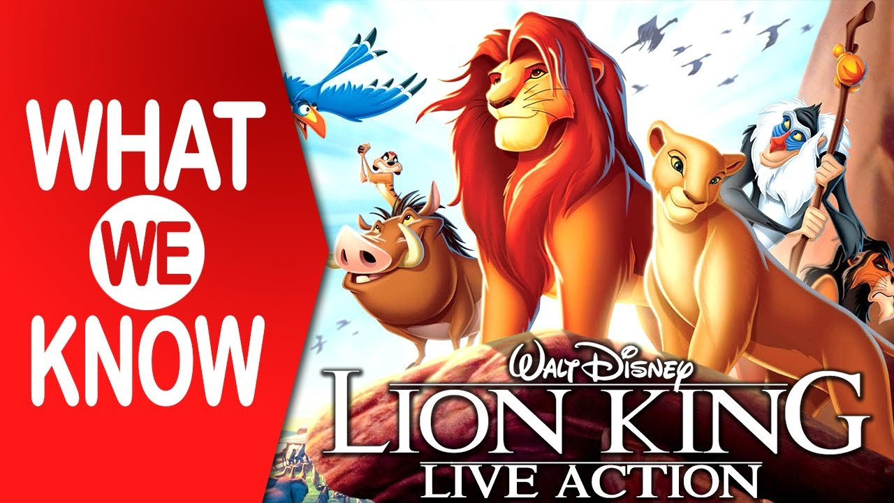 What We Know | The Lion King (2019) Live-Action Re-Make