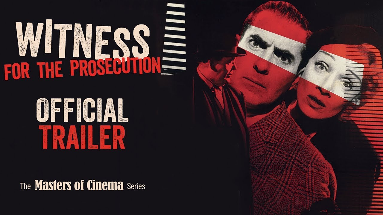 WITNESS FOR THE PROSECUTION (Masters of Cinema) New & Exclusive Trailer
