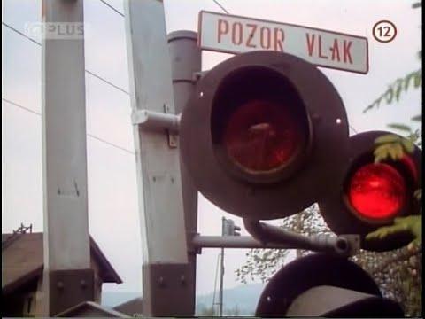 Železniční přejezd SSSR ve filmu Noc klavíristy (1976)